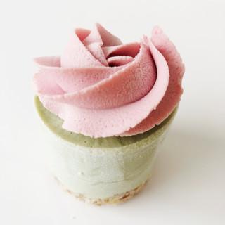 Rawdacious Mini Cheesecake matcha