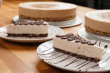 salted bourbon vanilla raw vegan gluten free cheesecake