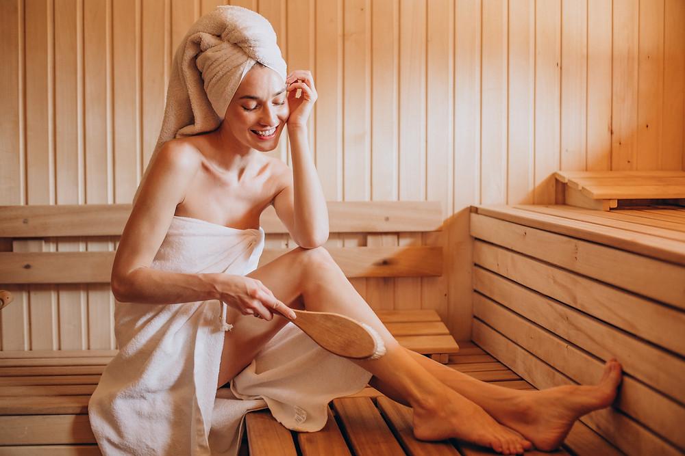 Quanto de espaço preciso para ter uma sauna em casa?
