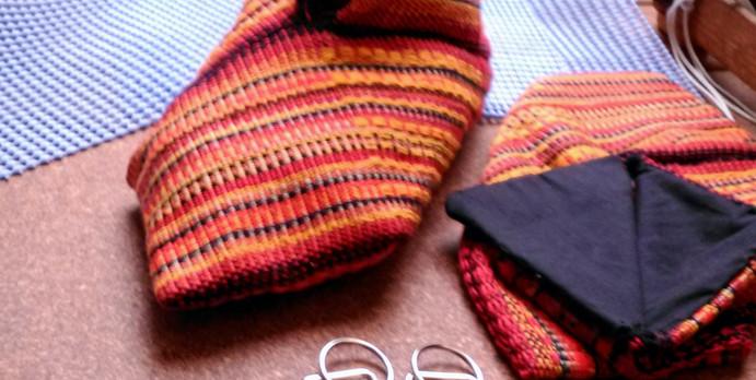 Inkle weave and krokbragd