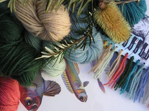 'Coastal' colours dye kit from Landscape dyes