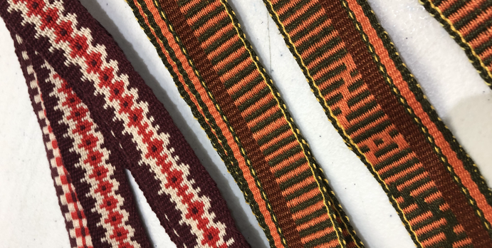 Inkle woven bands