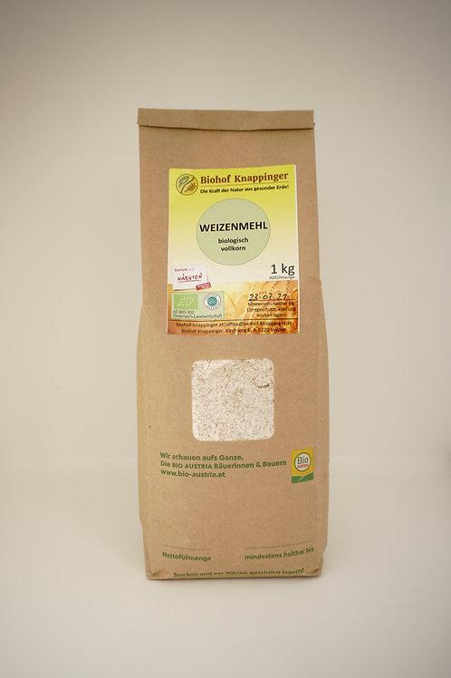 Bio Weizenvollkornmehl 1kg