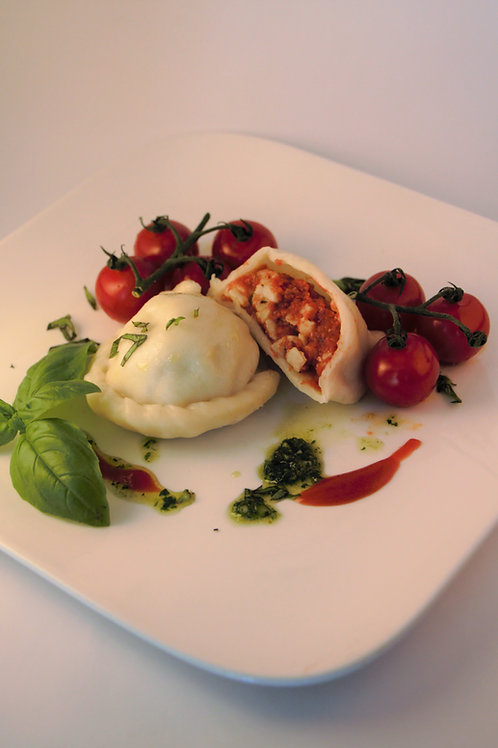 Tomaten-Mozzarella Nudel