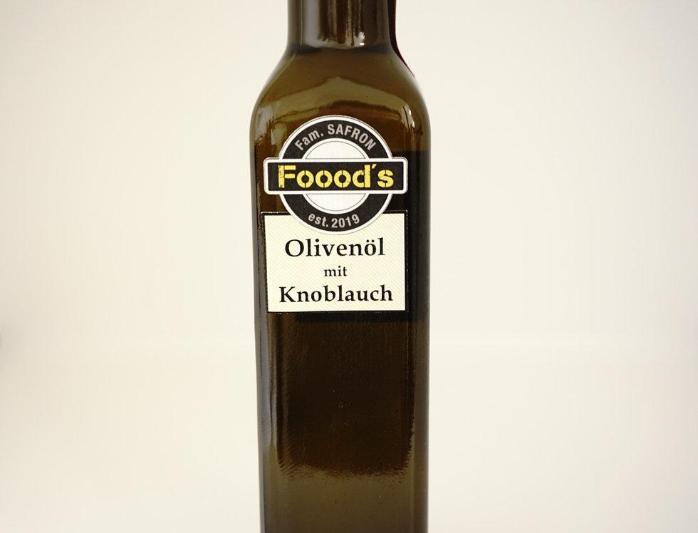 Olivenöl mit Knoblauch