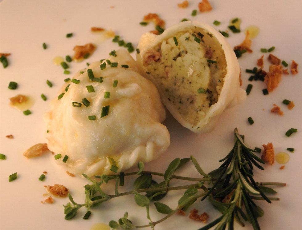 Kartoffel-Speck Nudel