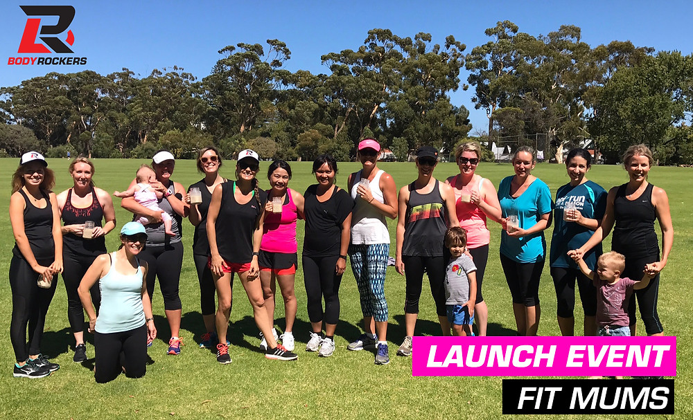 Body Rockers FIT MUMS at College Park in Nedlands