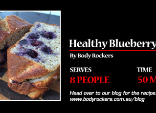 Simple, healthy & guilt free Blueberry Bread