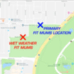 Body Rockers Rosalie Park Map