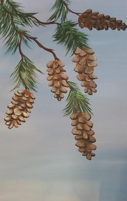 Winter pinecones l