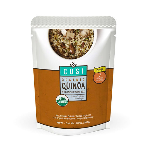 Quinoa with Mushroom Mix