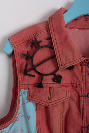 Queercore Art Object (brooch detail)