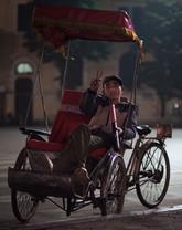 Rickshaw Driver, Hanoi