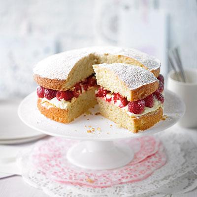 Victoria Sponge Cake with Buttercream