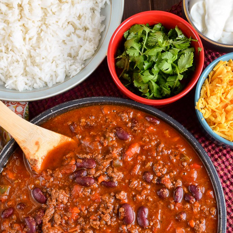 Slow-cooked Chilli Con Carne