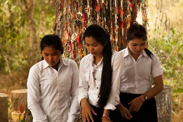 Mourning Women, Cambodia