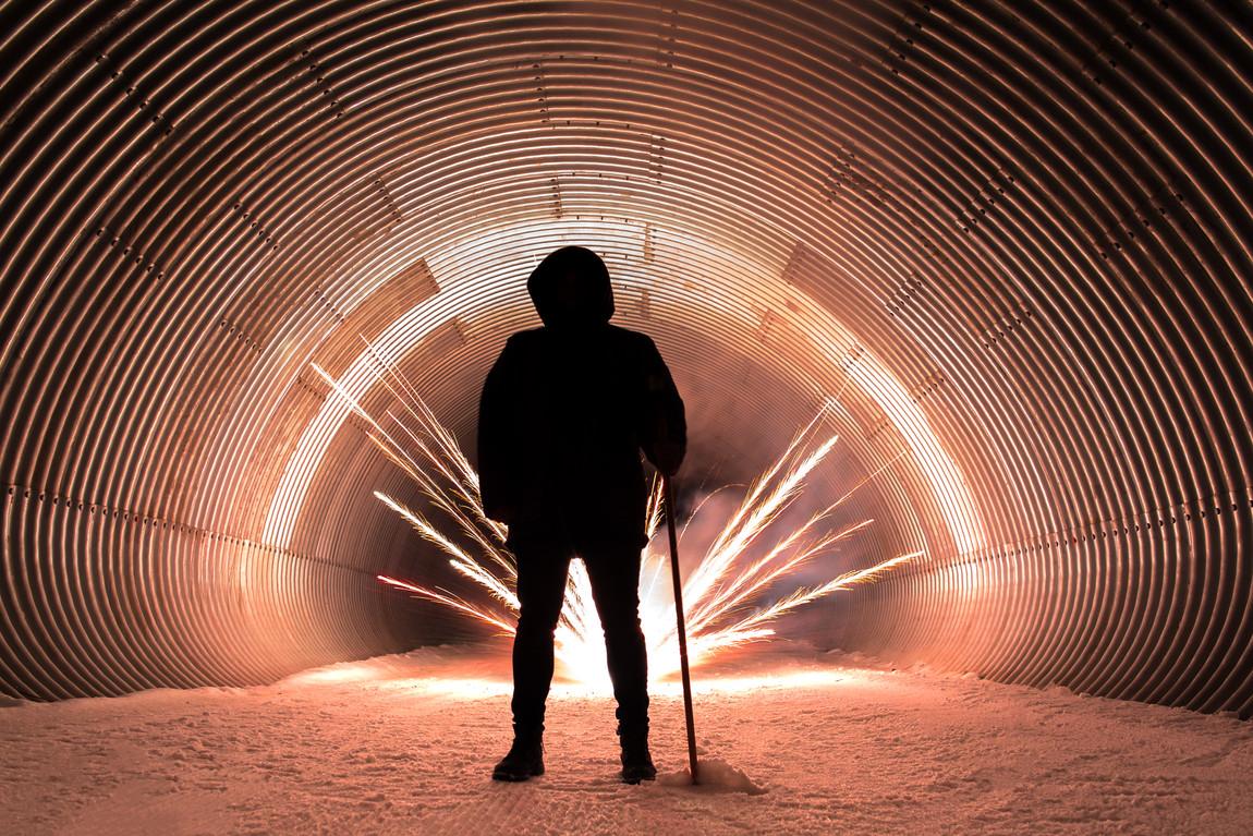 Tunnel Firework, Switzerland