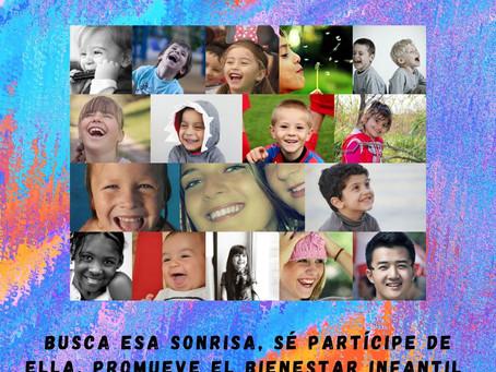 25 de Abril, Día Internacional de la Lucha contra el Maltrato Infantil.
