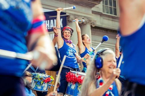 USWNT Ticker Tape Parade Ceremony 2019