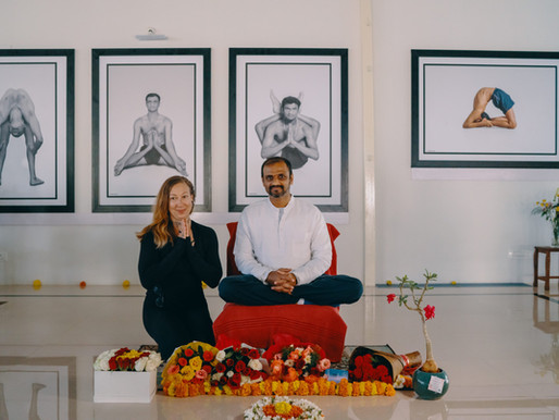 Yoga and Strength - Physical Practice in Mysore, India