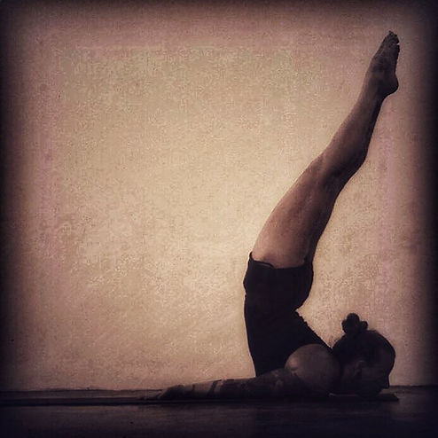 Somehow one of my favorite postures, and