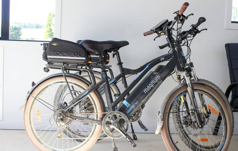 E-bikes for hire