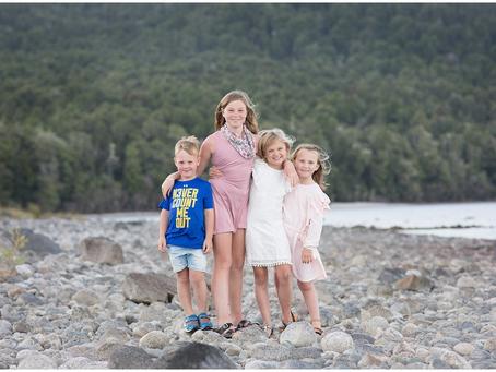 TAYLES FAMILY PHOTOS - LAKE TE ANAU, SOUTHLAND