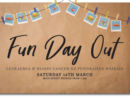 FUN DAY OUT FUNDRAISER