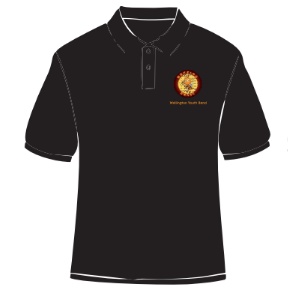 Youth: Buzzing Youth: Brass Wellington Youth Band Polo Shirt
