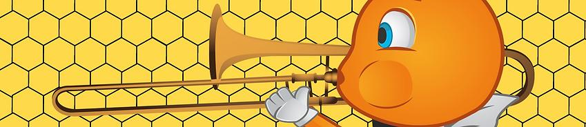Buzzing Brass Trombone