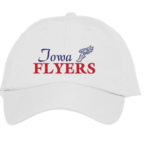 Flyers White Baseball Team Cap