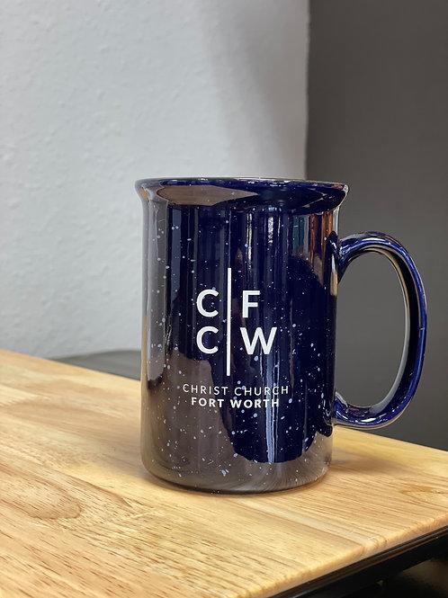 Blue CCFW Mug