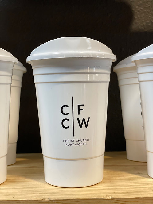 White CCFW Cup