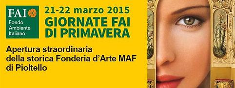 apertura straordinaria della storica Fonderia d'Arte MAF