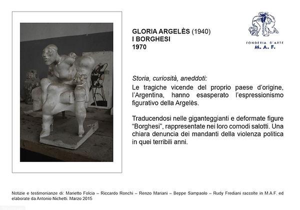 bronzi d'arte Argeles Gloria