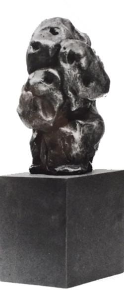 ASGER JORN contestazione armoniosa fonderia d'arte MAF
