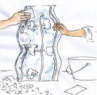 ingrandimenti e riduzioni di sculture in 3D