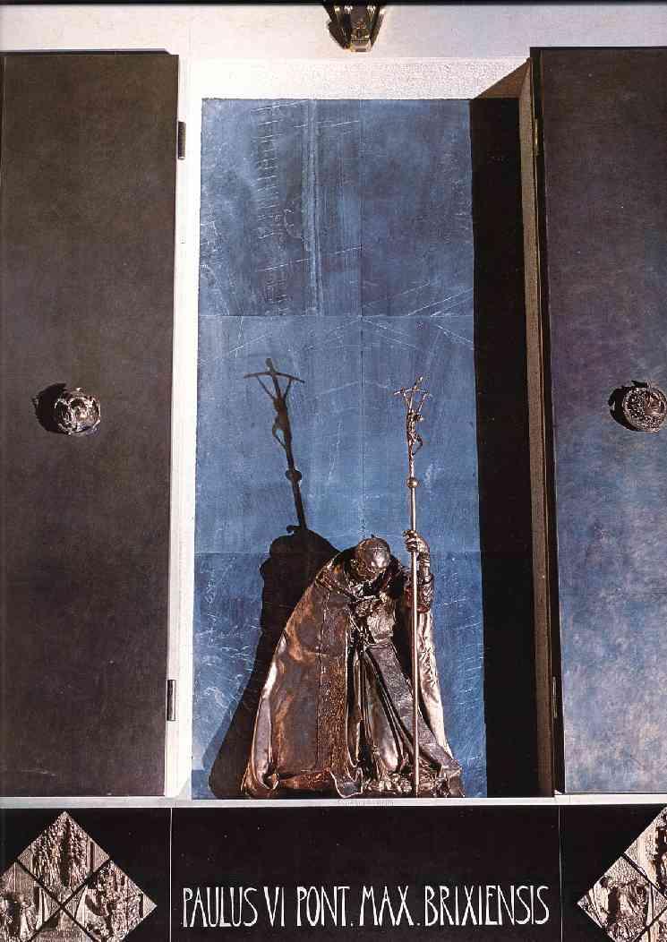 Lello Scorzelli  - Monumento a Paolo VI  - Cattedrale di Brescia
