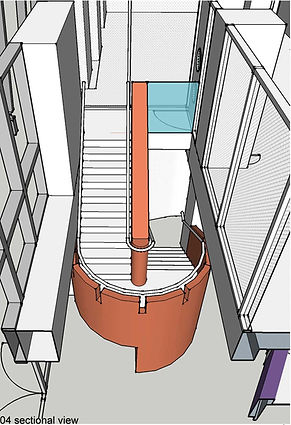 commercial architectural stair design