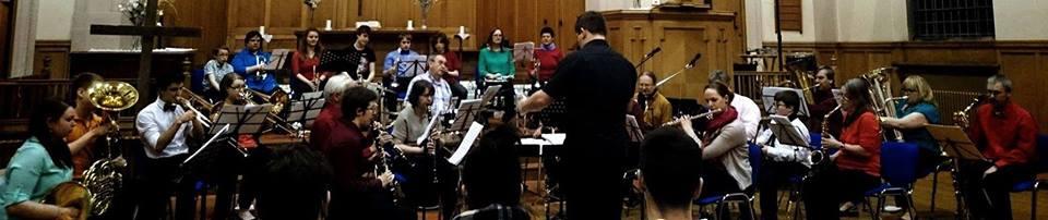 Concert band panorama