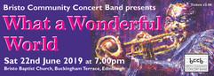 What a Wonderful World Concert June 2019