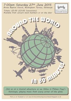 Around the world in 80 minutes June 2015