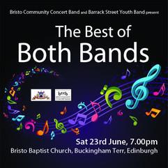 Best of Both Bands concert June 2018