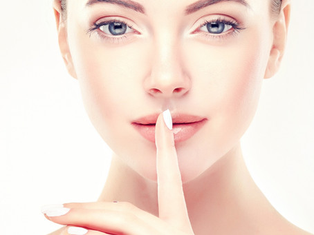 You can have cosmetic treatments and keep it a secret!
