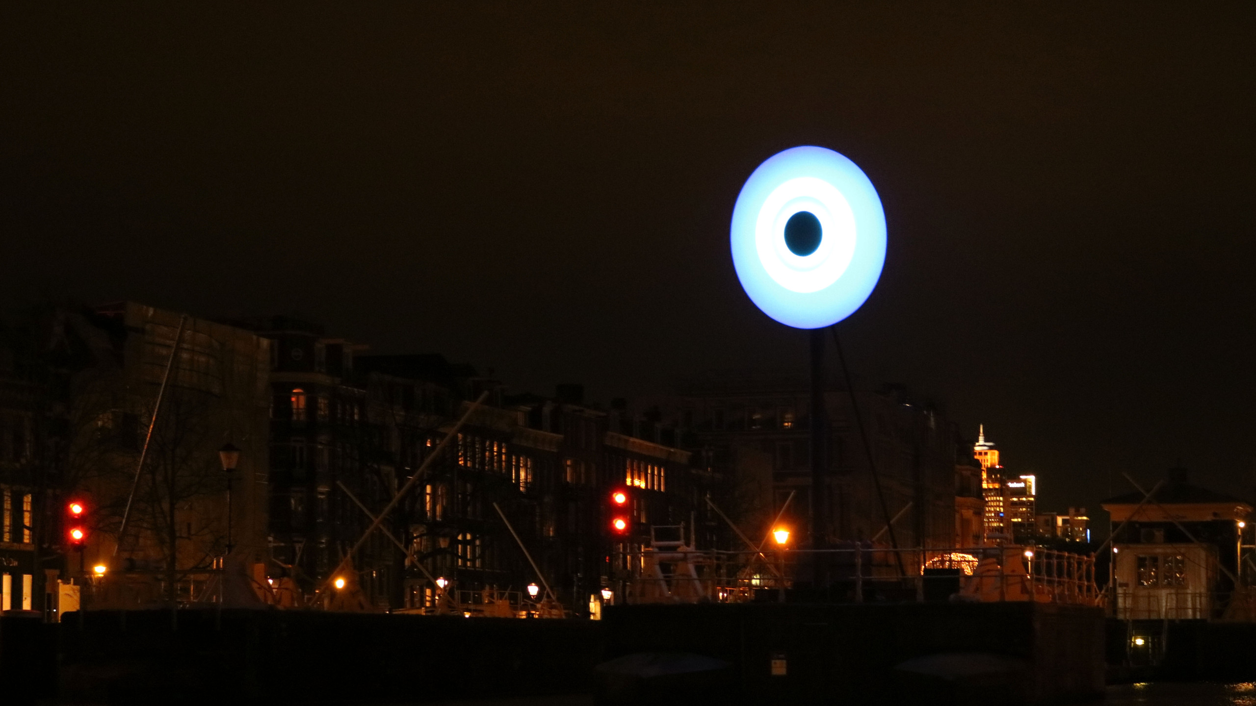 Protecting Amsterdam against evil. - Driton Selmani