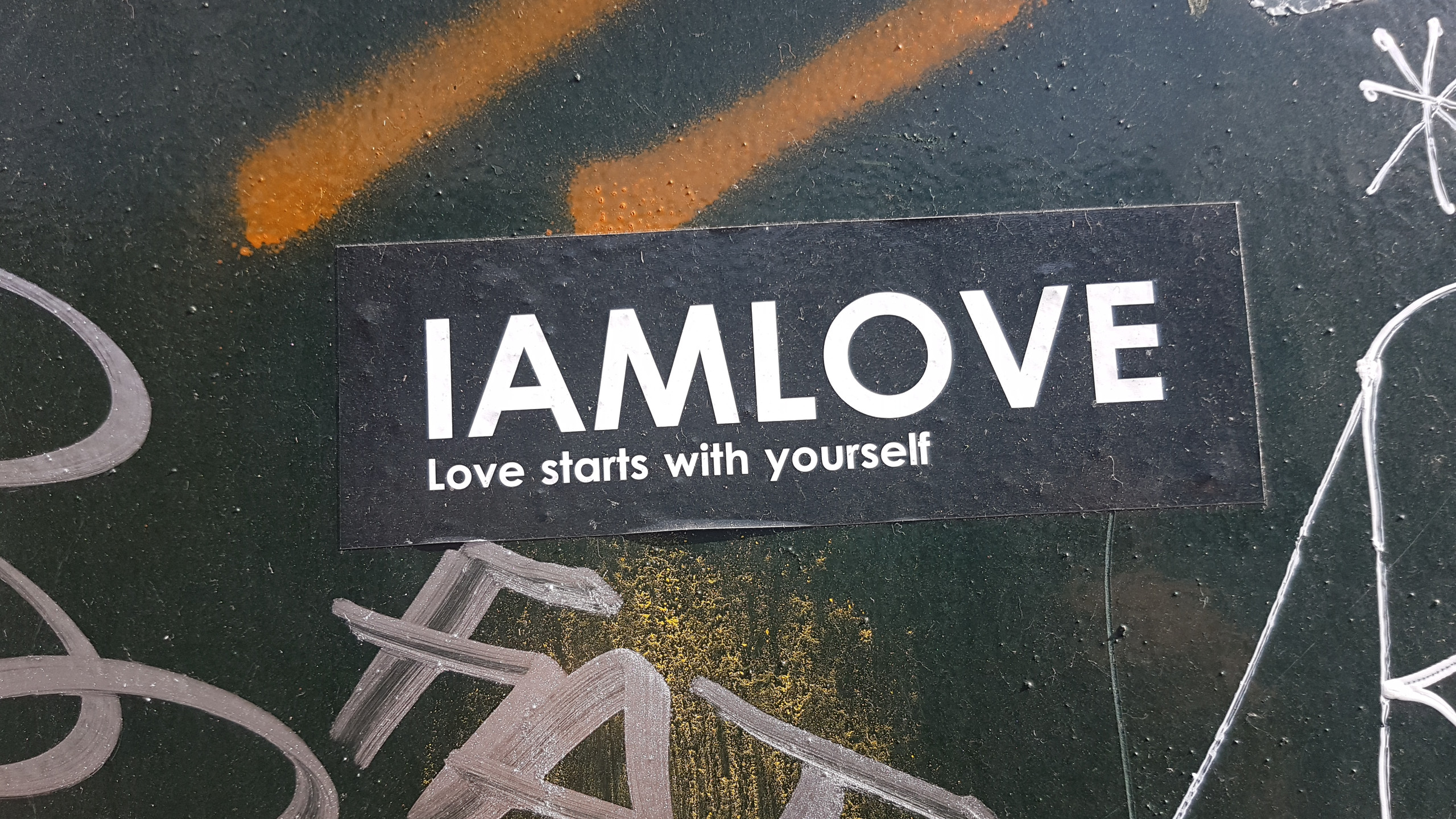 I AM LOVE Sticker