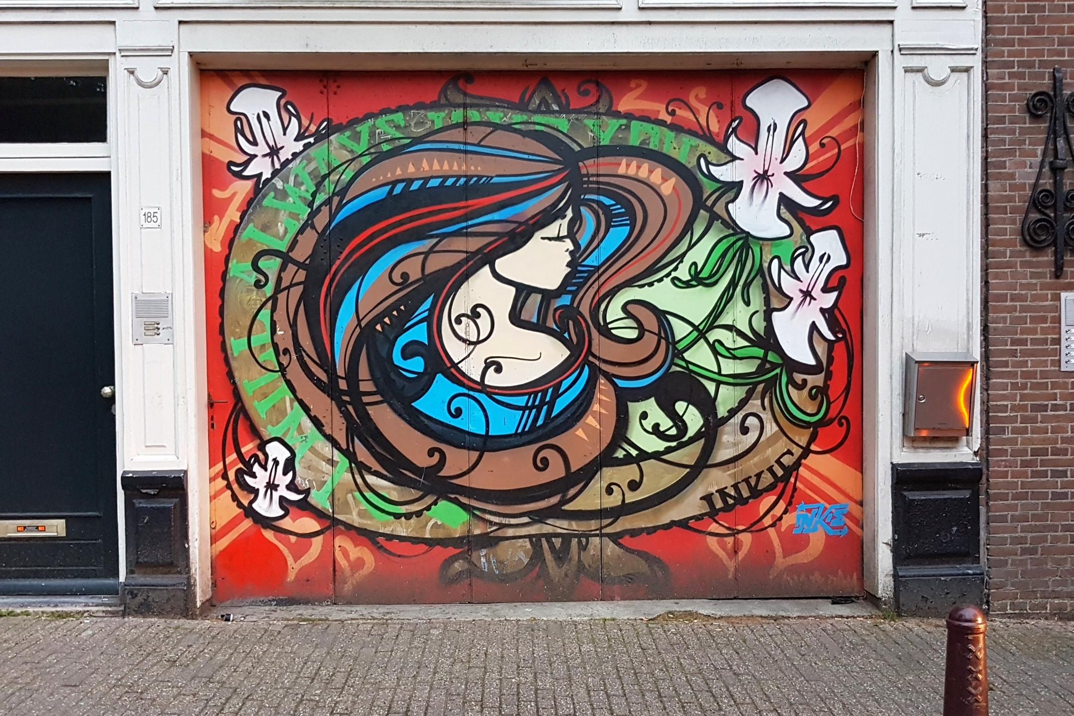 Garage Door Art Work in Centurm