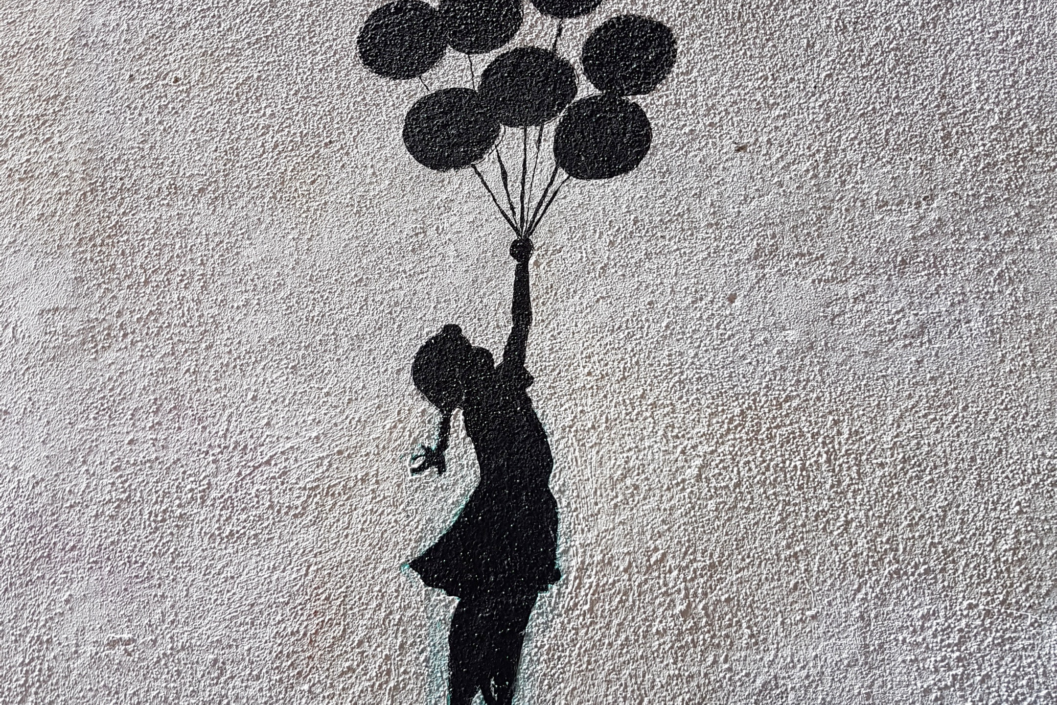 Banksy inspired stencil