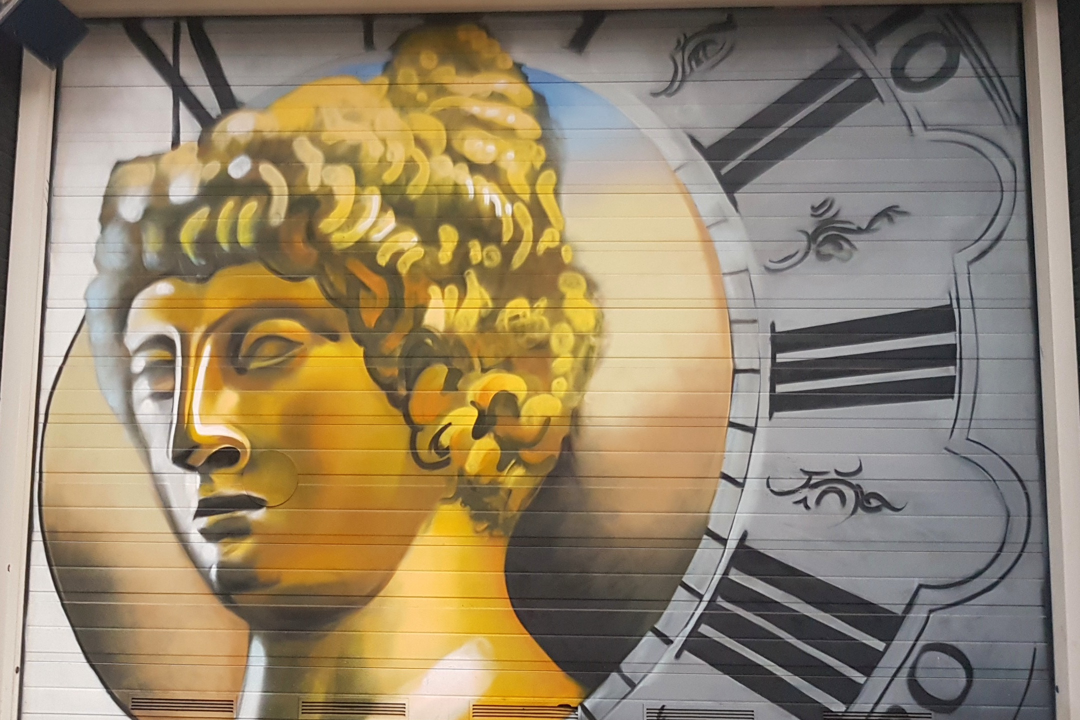 Valkenburgerstraat - Goddess inspired Garage Doors