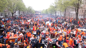 King's Day 2018: The Biggest Party in Amsterdam